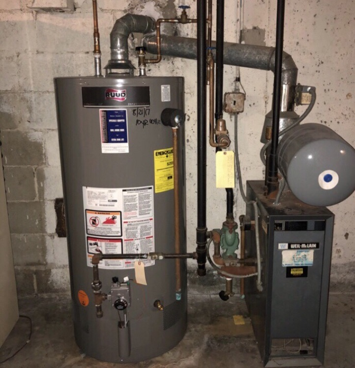 40 Gallon Gas Water Heater Replacement