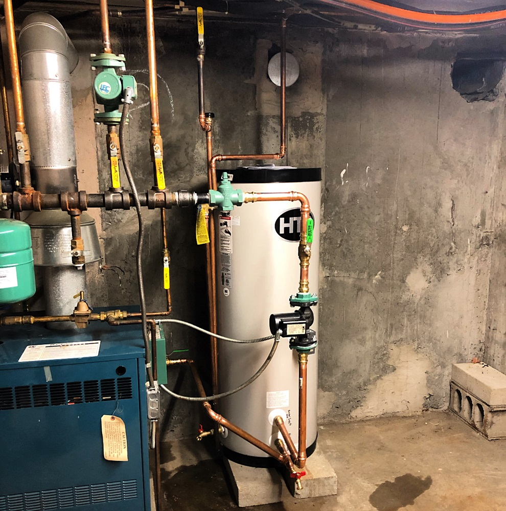 Indirect Fired Hot Water Tank Replacement